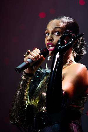 Alesha Dixon - Radio city concert on August 15, 2010