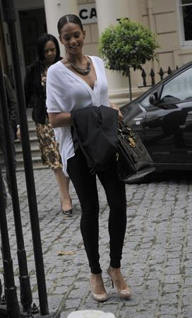 Alesha Dixon - Out in London on July 4, 2012