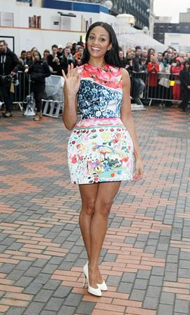 Alesha Dixon - Britains Got Talent Auditions - Feb 17, 2012