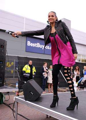 Alesha Dixon - Best Buy Nottingham - May 28, 2011