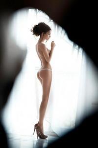 Ekaterina Zueva in lingerie - ass