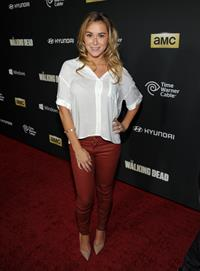 Alexa Vega AMC's  The Walking Dead  Season 4 Premiere Party, Oct 3, 2013