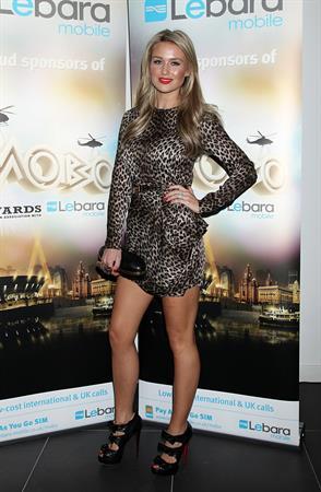 Alex Curran - 2010 Mobo awards - Liverpool - October 20 2012