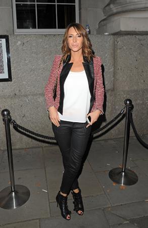 Alex Jones - London Fashion Week - September 14, 2012