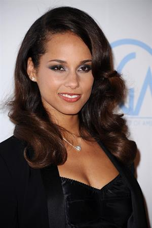 Alicia Keys at the 23rd annual Producer's Guild awards on January 21, 2012