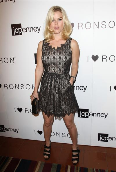Alice Eve JC Penney celebrates Charlotte Ronson's I Heart Ronson Collection on June 21, 2011