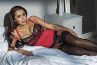 Marnie Simpson in lingerie