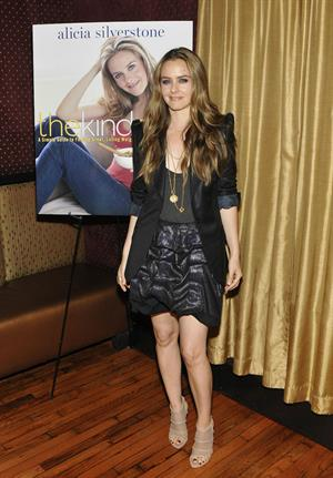 Alicia Silverstone at The Kind Diet Book release party
