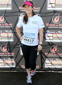 Alison Sweeney 5th Annual Rock N Roll Las Vegas Marathon (November 17, 2013)