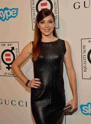 Alyson Hannigan attends Make Equality Reality Event 11/4/13