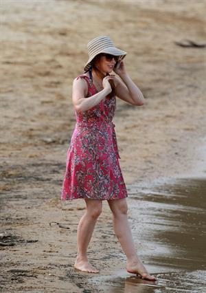 Alyson Hannigan on set American Reunion on July 23, 2011