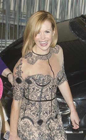 Amanda Holden leaving fountain studios in London on May 7, 2012