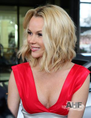 Amanda Holden at Britains Got Talent auditions on Feb 19, 2012