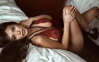 Paula Manzanal in lingerie
