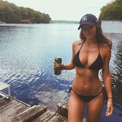 Stephanie Curry in a bikini