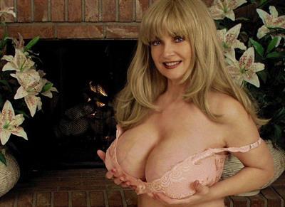 Kathi Somers in lingerie