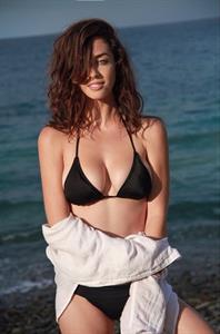 Daniela Dib in a bikini