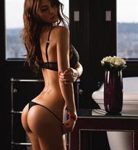 Silvia Caruso in lingerie - ass