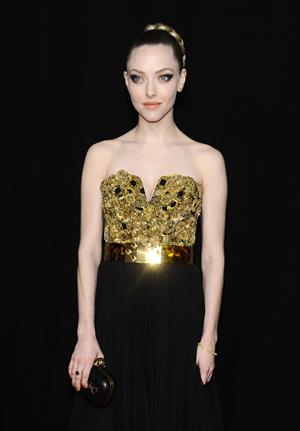 Amanda Seyfried 'Les Miserables' premiere in New York 12/10/12