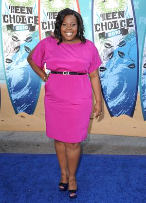 Amber Riley - Teen Choice Awards 2010 - August 8, 2010