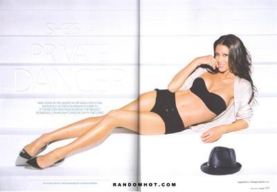 Shannon Elizabeth in lingerie