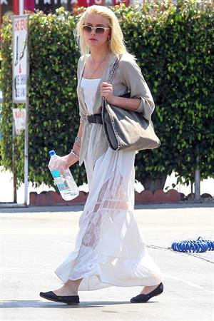 Amber Heard out in West Hollywood May 5, 2012