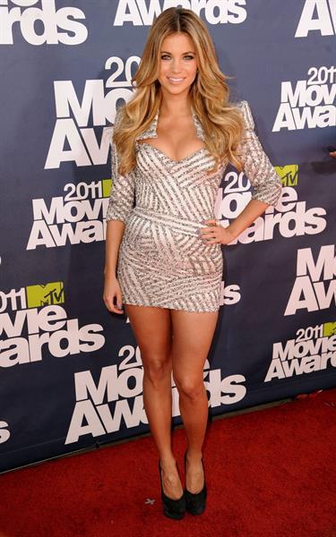 Amber Lancaster 2011 MTV Movie Awards in Los Angeles June 5, 2011