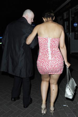 Amelle Berrabah Rochelle Wiseman Alto Nightclub 2010