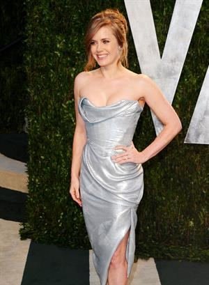 Amy Adams 2012 Vanity Fair Oscar Party in West Hollywood on February 26, 2012