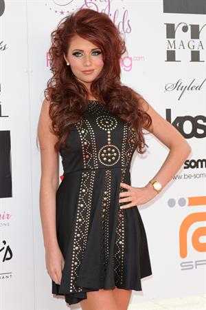 Amy Childs Essex fashion week autumn winter 2012 07-04-12