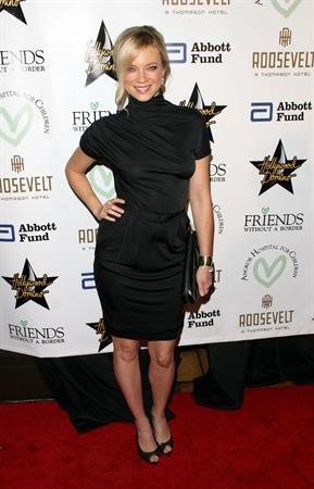 Amy Smart Friends Without Borders first annual Los Angeles gala at the Roosevelt hotel in Hollywood California