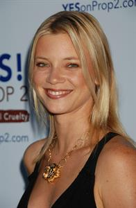 Amy Smart Yes on Prop 2 party in Los Angeles