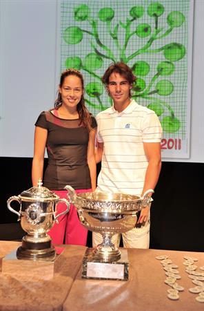 Ana Ivanovic at the Roland Garros Draw on May 20, 2011