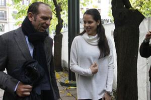 Ana Ivanovic Enjoys a stroll in Milan November 30, 2012
