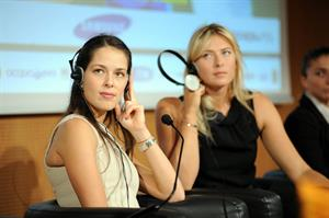 Ana Ivanovic Press conference to present Saturday's exhibition match in Milan November 30, 2012