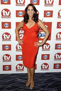 Andrea McLean TV Choice Awards 2011 on September 13, 2011