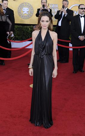 Angelina Jolie 18th annual Screen Actors Guild Awards on January 29, 2012