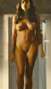 Rosario Dawson - pussy and nipples