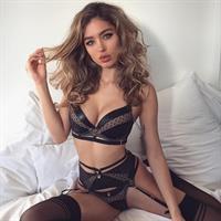 Belle Lucia in lingerie