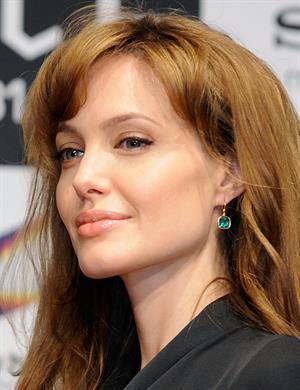 Angelina Jolie Salt Press conference in Tokyo on July 27, 2010