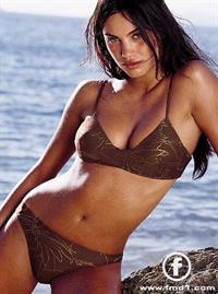 Alina Puscau in a bikini