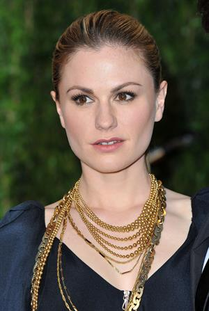 Anna Paquin at the Vanity Fair Oscar Party at Sunset Tower on March 7, 2010