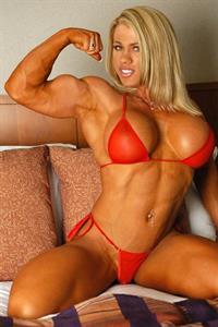 Melissa Dettwiller in a bikini