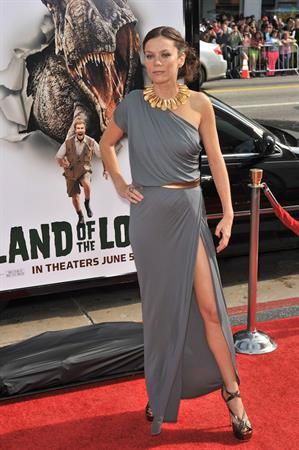 Anna Friel at The Los Angeles Premiere of Land of the Lost Graumans Chinese Theatre in Hollywood California