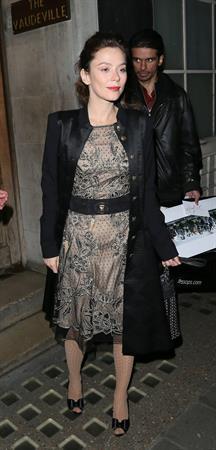 Anna Friel Vaudeville Theatre in London - November 8, 2012