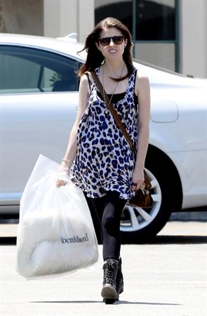 Anna Kendrick Roomboard Home Furnishings Los Angeles April 30, 2012