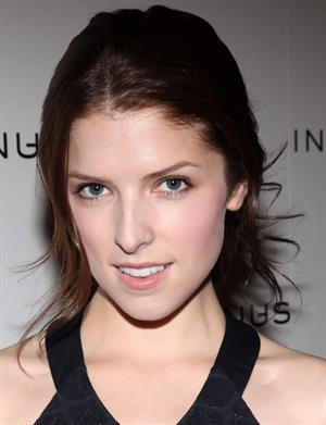 Anna Kendrick In Add Minus Grand Store Opening on November 18, 2010