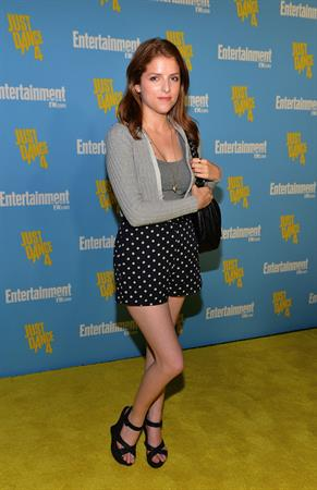 Anna Kendrick attends Entertainment Weekly party at San Diego Comic-Con - July 14, 2012
