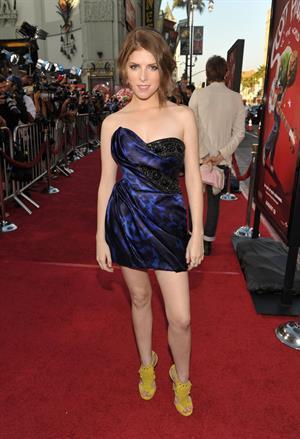 Anna Kendrick Los Angeles premiere of Scott Pilgrim vs the World on July 27, 2010