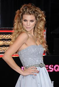 AnnaLynne McCord premiere of Screen Gems Burlesque on Novemeber 15, 2010
